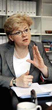 """Renate Amstutz: """"Wir vertreten die Interessen der urbanen Schweiz""""."""