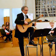 Giovanni DI CAMILLO, professeur diplomé, cours de guitare classique à LCJ Vaucresson, Garches, La Celle Saint Cloud, Bougival, Le Chesnay, Ville d'Avray