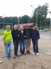 Team Klack 3 in Uelsen (auf dem Bild feht Karl Adrion)