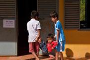 In der Dorfschule Prasat