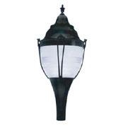 Luminario modelo New Orleans equipado con HID o LEDS Philips