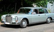 Mercedes-Benz W100 mit Achtstempel-Einspritzpumpe