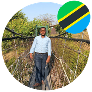 Mr. Kimario Deodath Masters Student in Japan from Tanzania