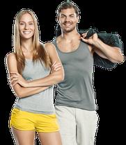 In palestra con il Virtual Fitness