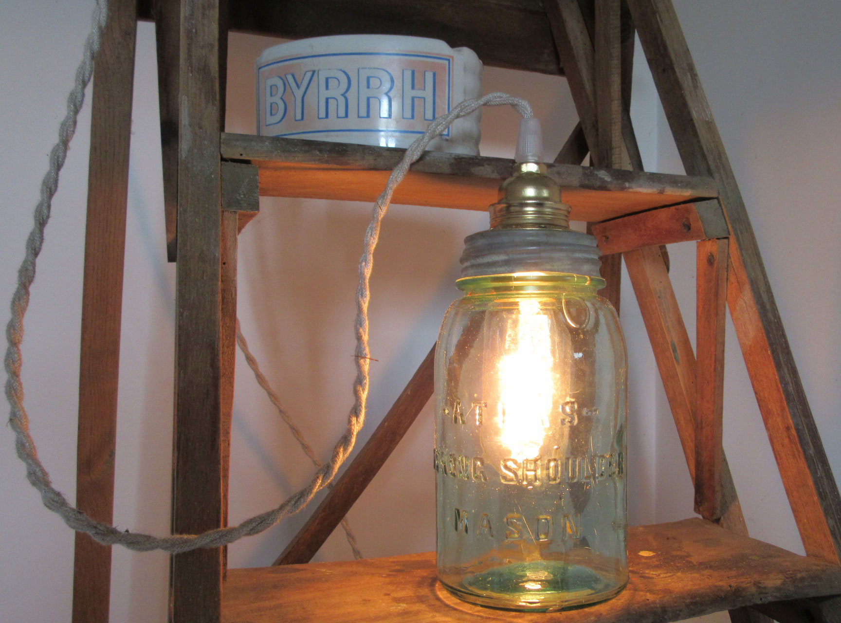 Fabriquer Une Lampe Style Industriel lampes artisanales