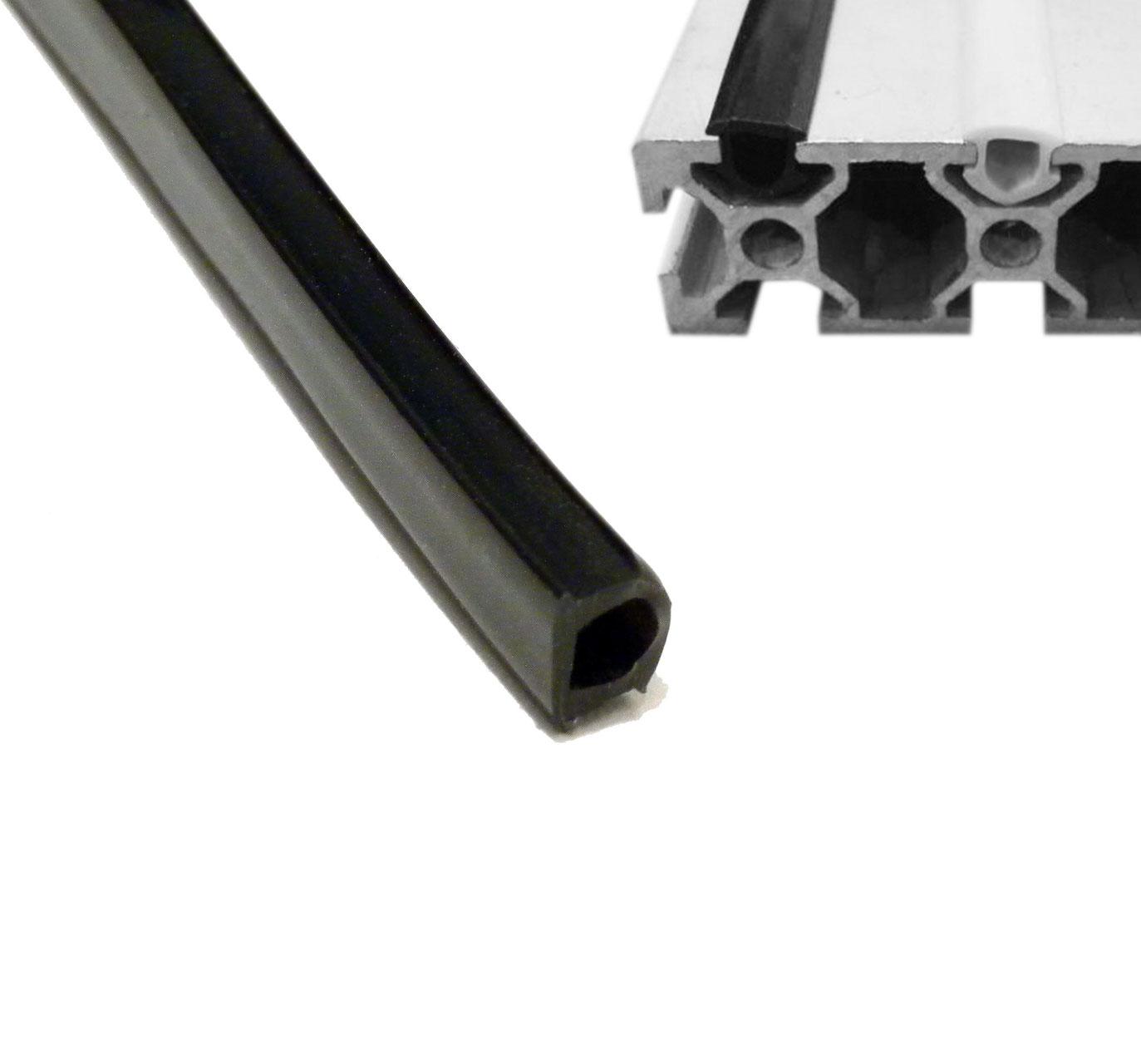 joint noir pour rainure profil 2020 pi ces d tach es pour imprimantes 3d. Black Bedroom Furniture Sets. Home Design Ideas