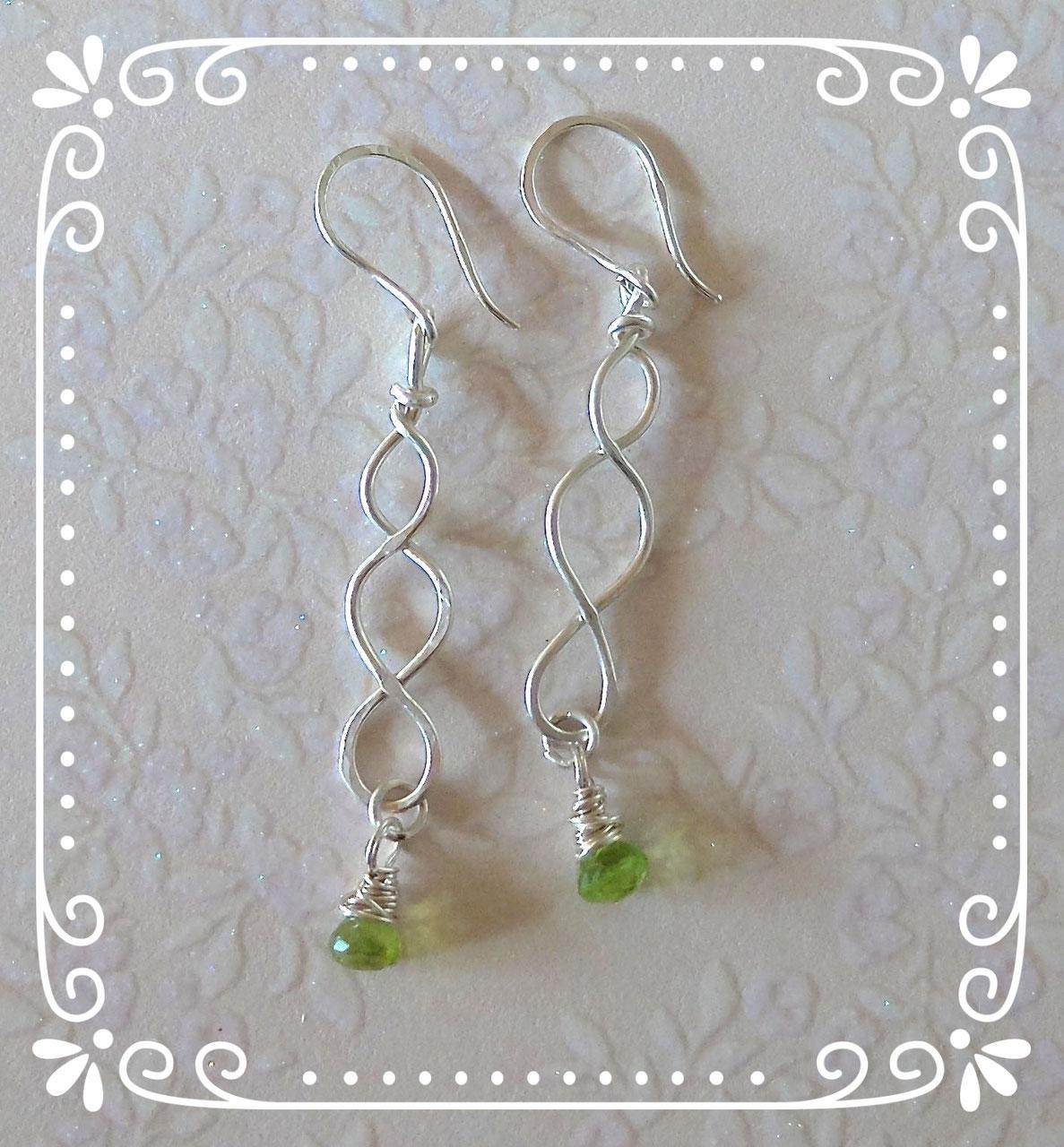 Silber-Ohrringe - freie Manufaktur