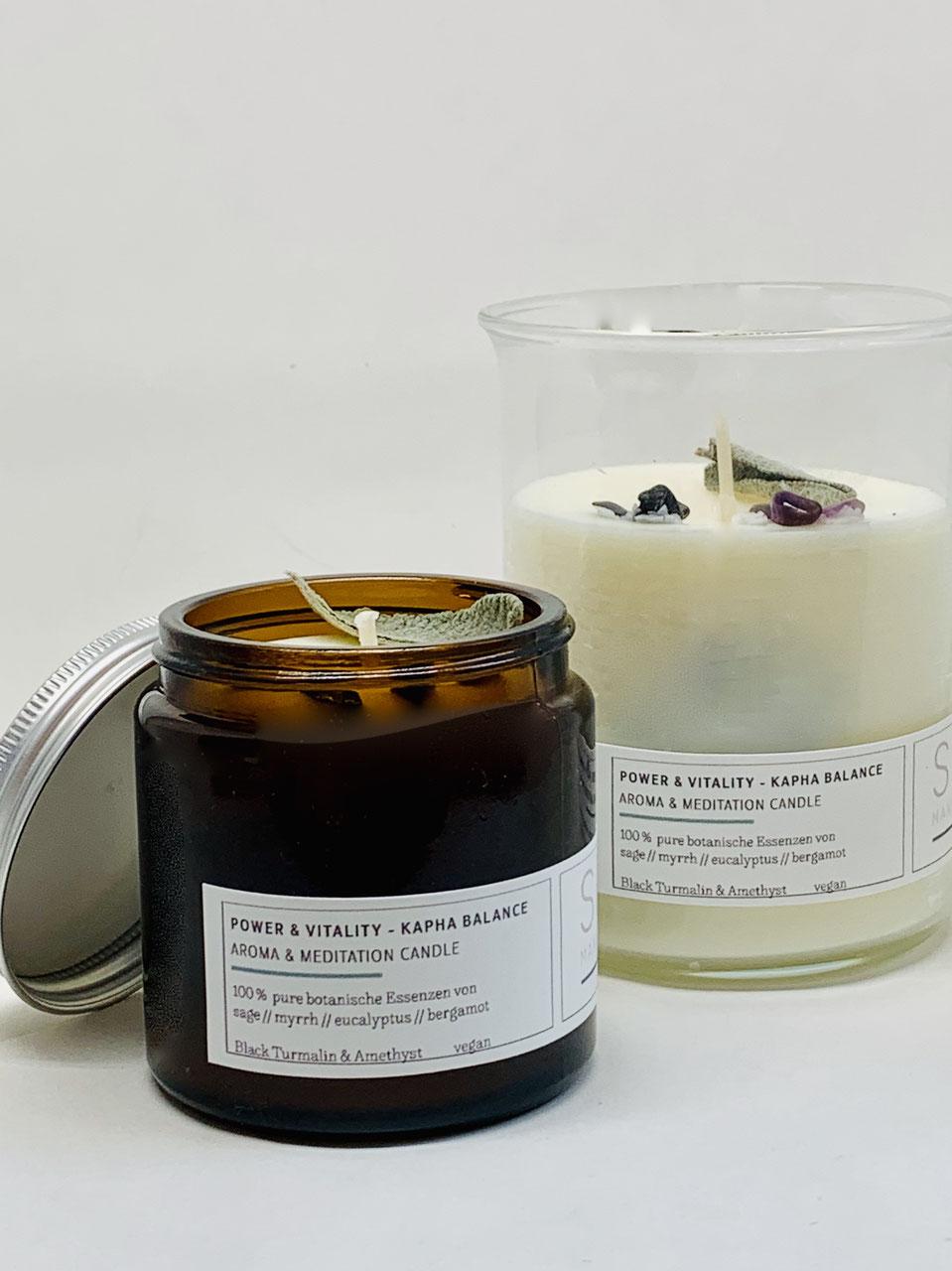 Aromakerzen Duftkerzen Stearin schwarzen Johannisbeere SPA Wachs Kerzen