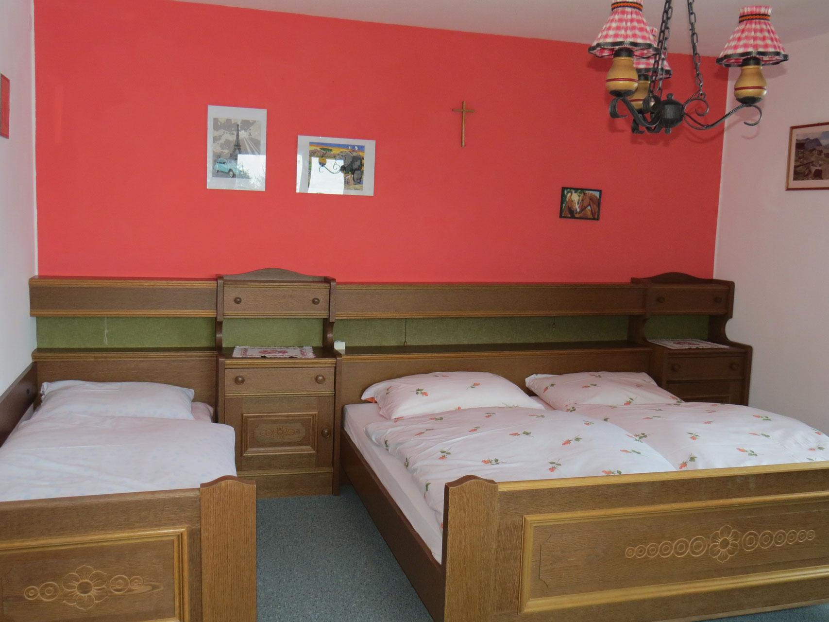 Dreibettzimmer, Biohof Haus Wieser, Abtenau, Salzburg Land