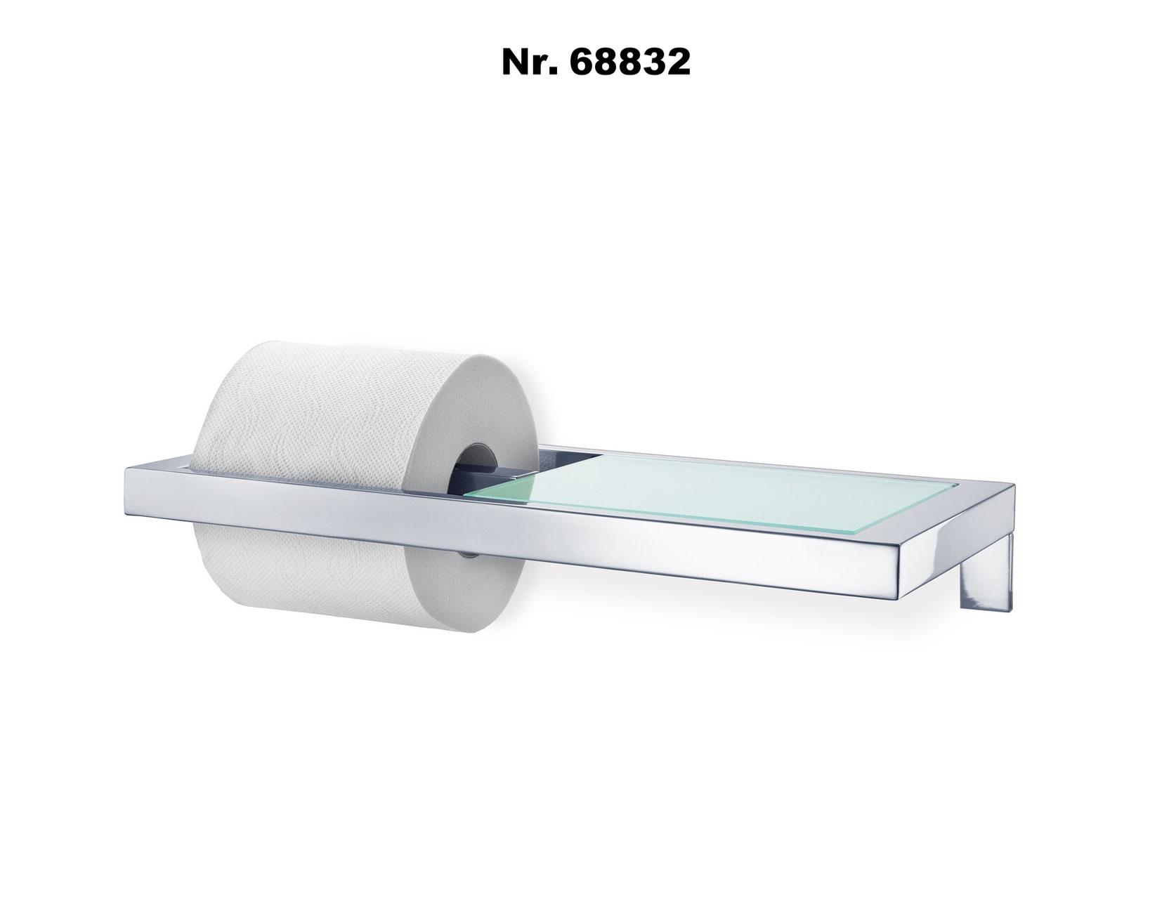 edelstahl poliert Blomus 68824 Feuchtt/ücherbox f/ür Menoto Toilettenbutler