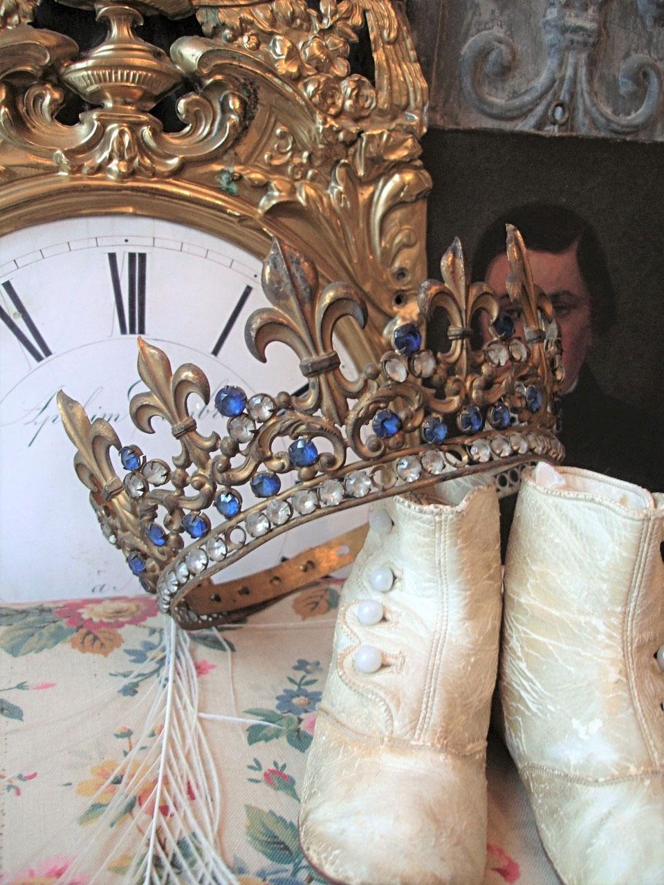Berühmt Französische Antike Draht Kleiderhaken Zeitgenössisch ...