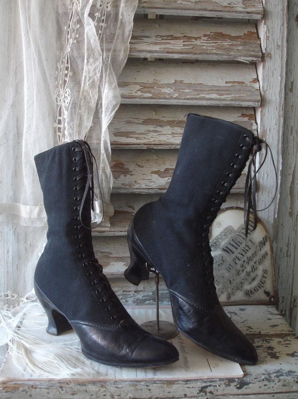SchuheBoots: Viktorianische Schuhe, Schnürstiefel