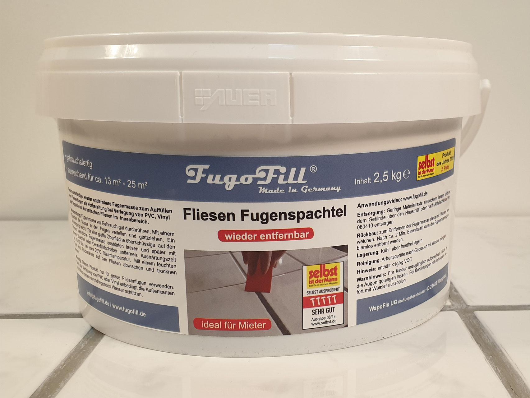 FugoFill Shop FugoFill Fliesen Fugenspachtel kein