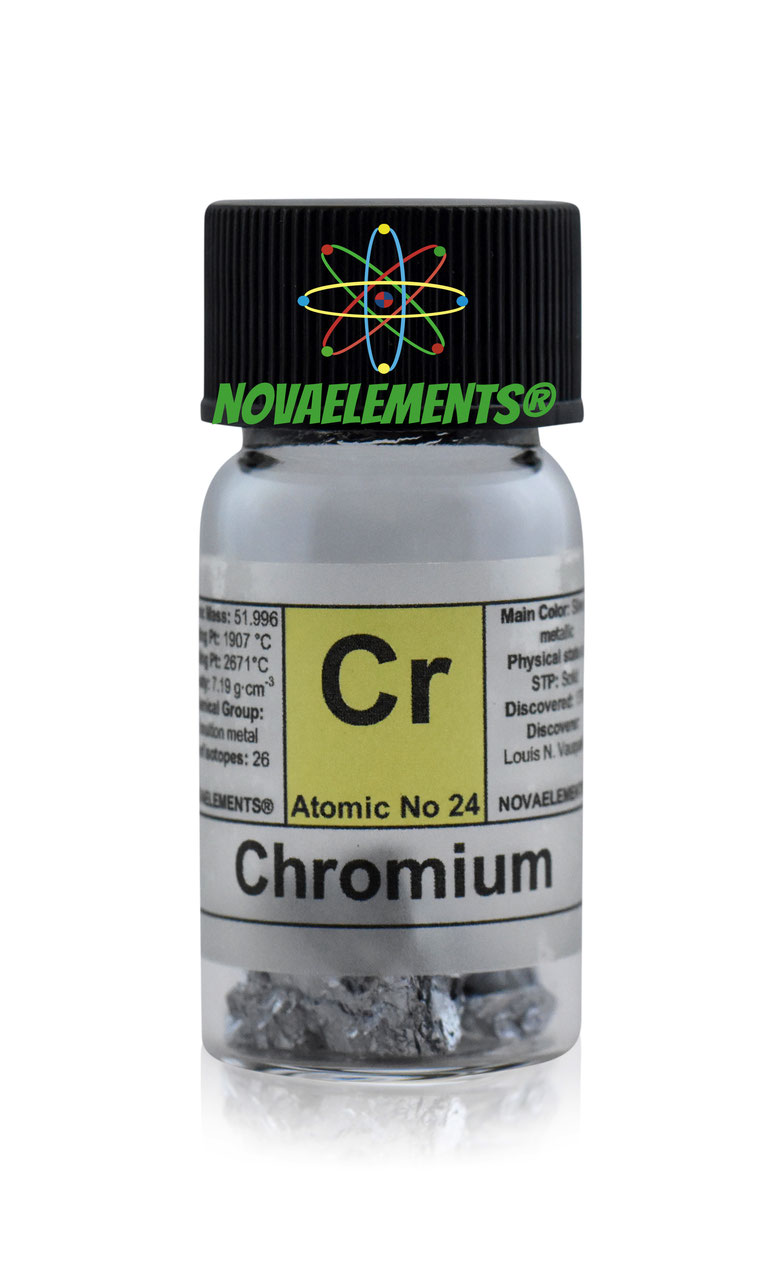 Buy chromium metal element 24 sample nova elements buy now from the form below buycottarizona
