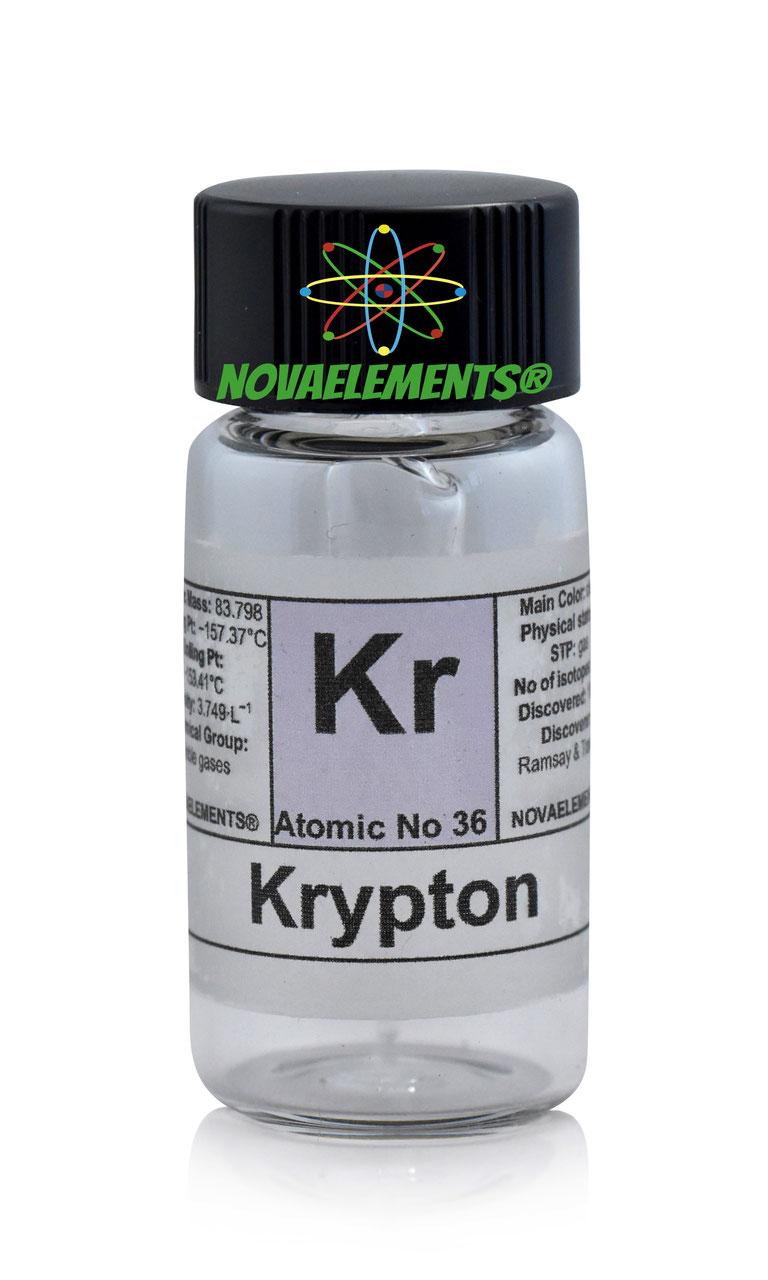 buy kripton gas ampoule element 36 sample
