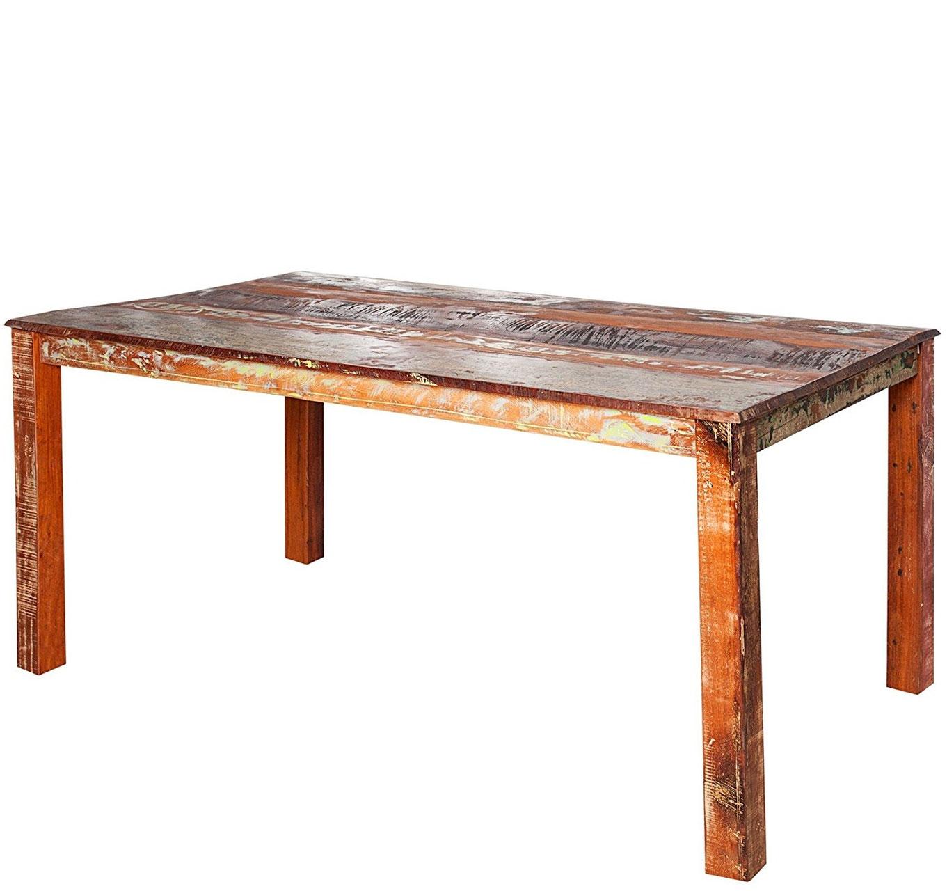 Tavoli in legno riciclato benvenuti su sandro shop - Tavolo legno riciclato ...