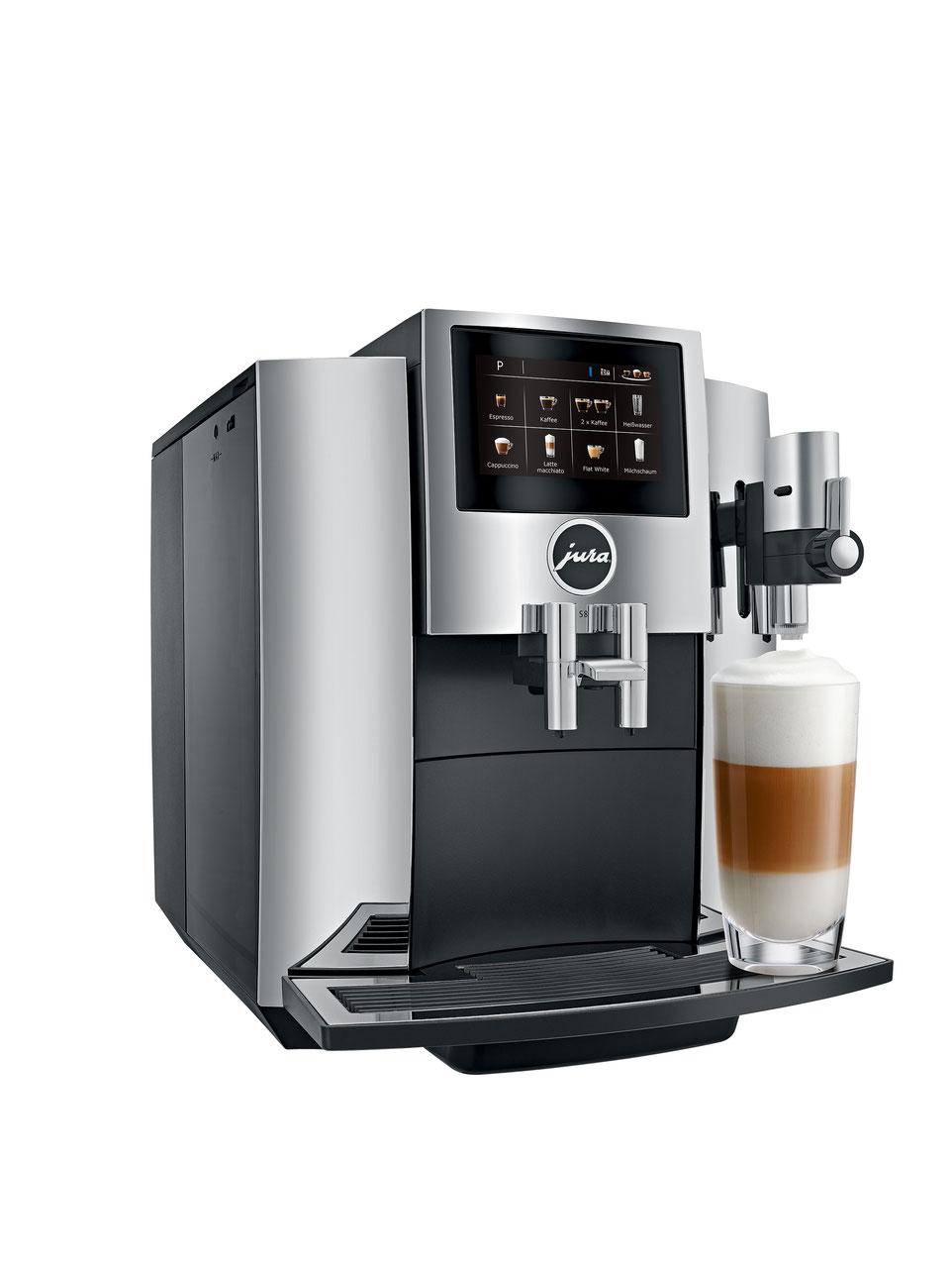 jura s8 chrom ch service point kaffeemaschinen. Black Bedroom Furniture Sets. Home Design Ideas