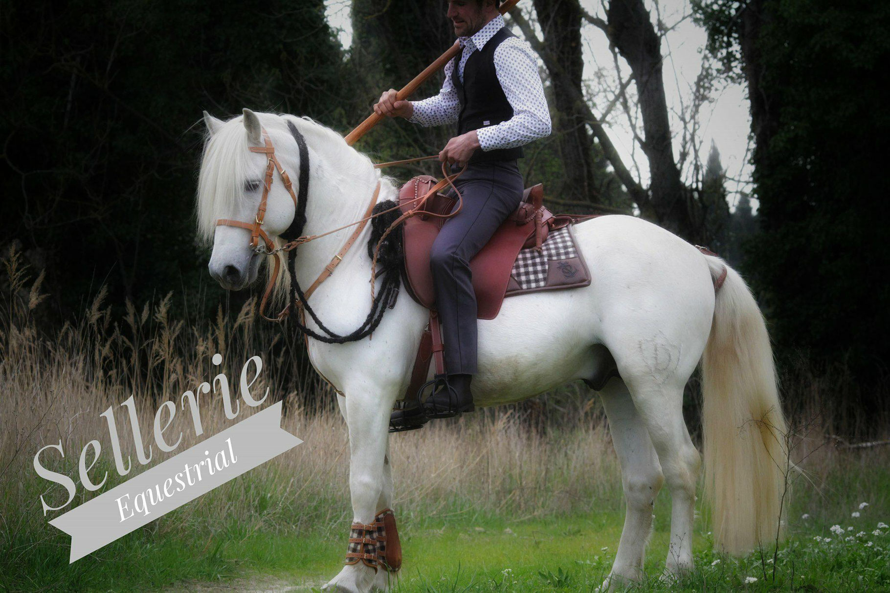 Bottes Boots Sellerie Equestrial Passionnément cheval