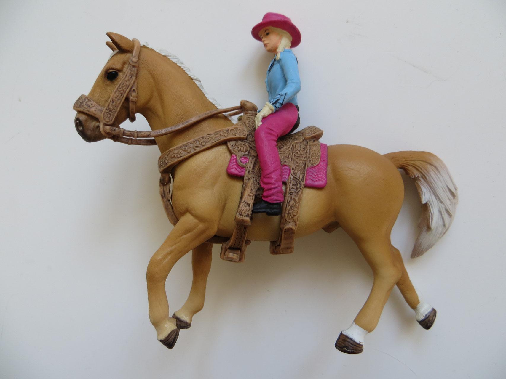 schleich pferde mit reiter