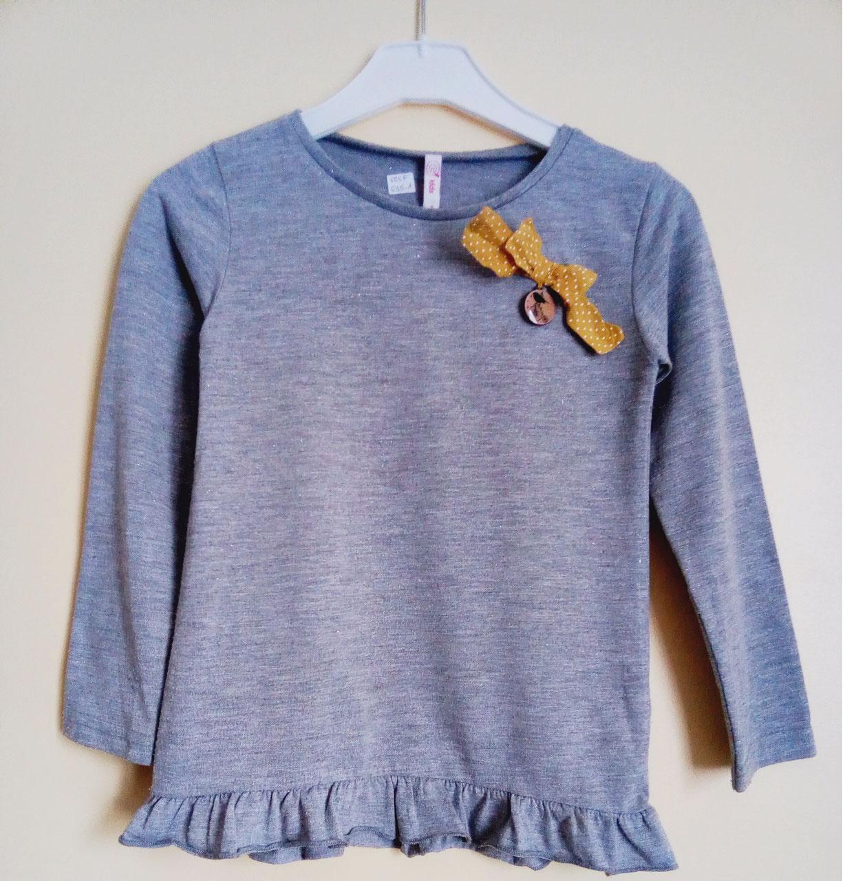 8c23f89b0c2 T-shirt à manches longues gémo fille 6 ans - Chipettes-et-Galopins ...