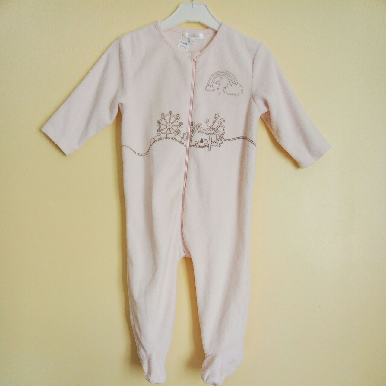 5ee32baa1e60a Surpyjama polaire rose 24 mois - Chipettes-et-Galopins