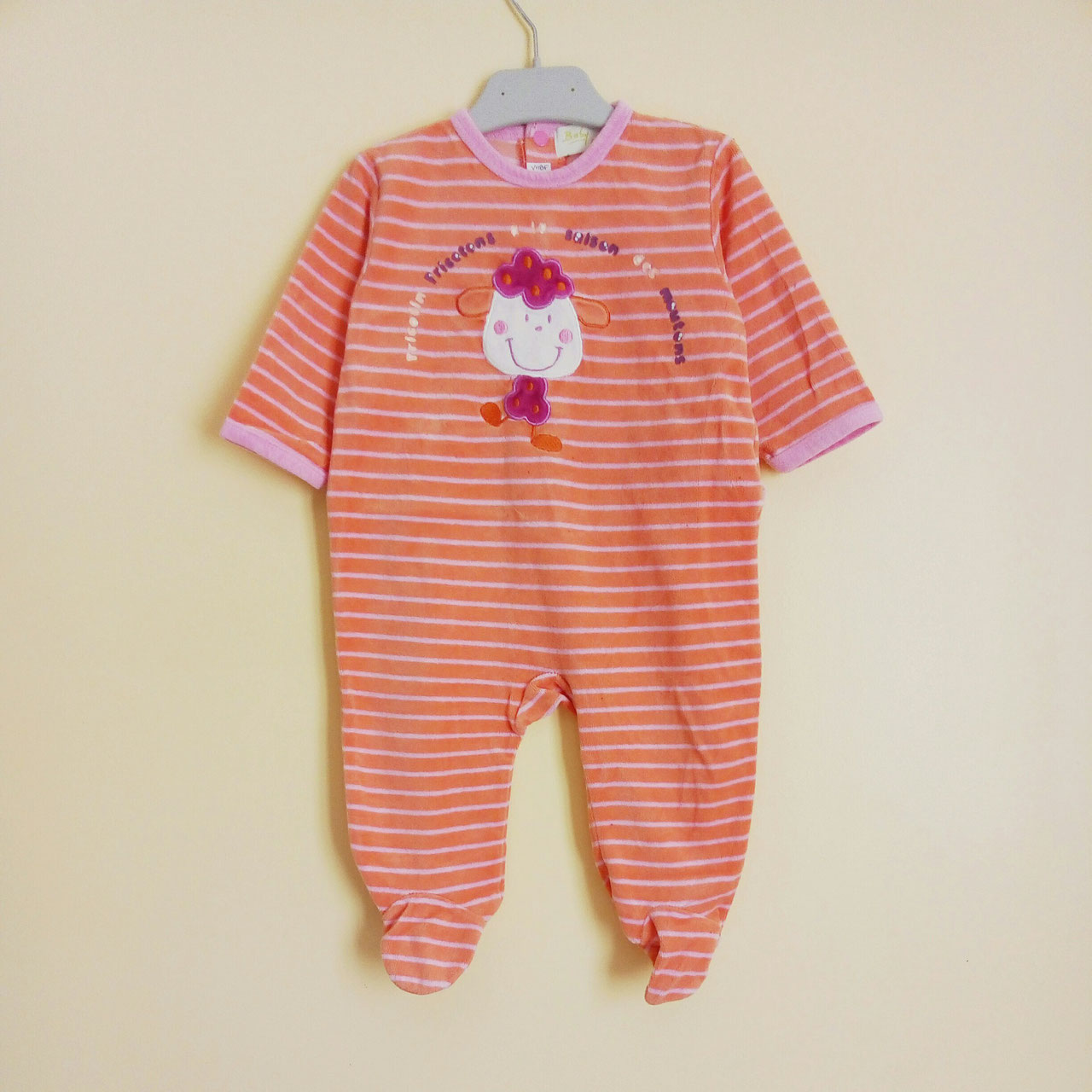 d8b813371a525 Pyjama velours 9 mois - Chipettes-et-Galopins,Vêtements Occasion Enfants