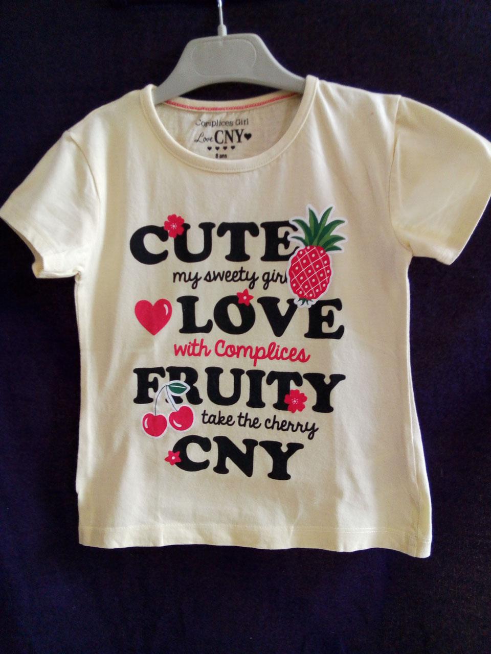 3ec77911c2089 T-shirt fille 8ans - Chipettes-et-Galopins