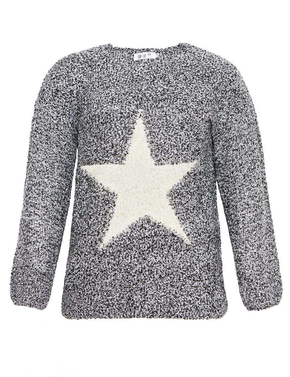 buy popular e8e00 b7f4d weicher Pullover mit Stern