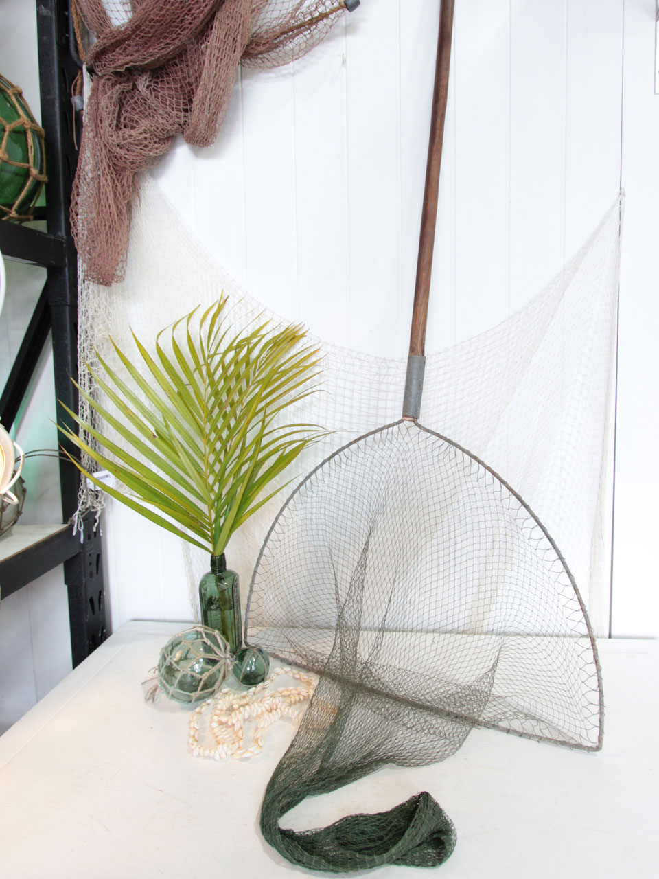 Fishnet catcher 5150 coastal vintage coastal nautical for Ica home decor