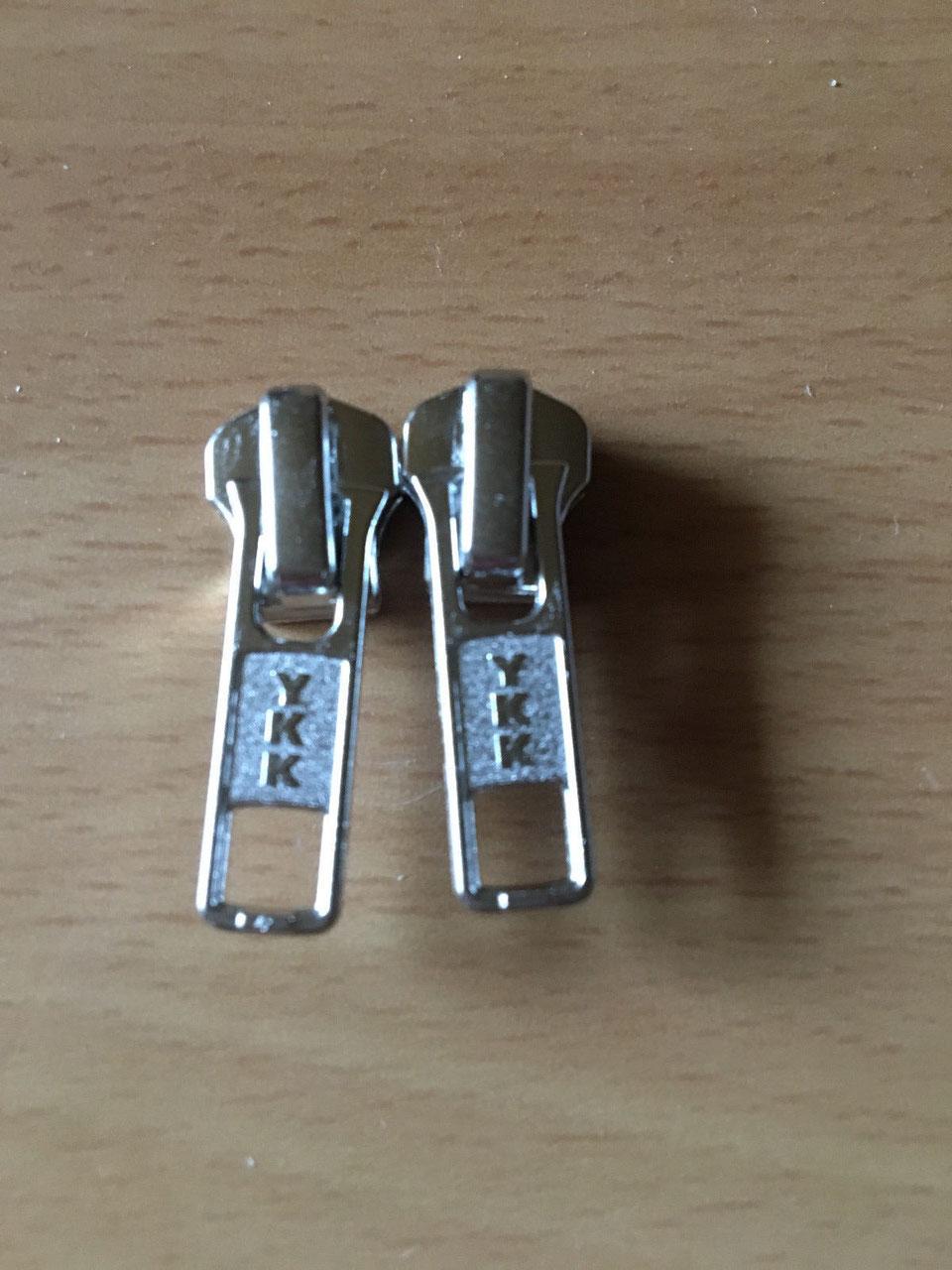 0,40 €//Stück 20 Stück Schieber für Kunststoff Spirale Reißverschlüsse