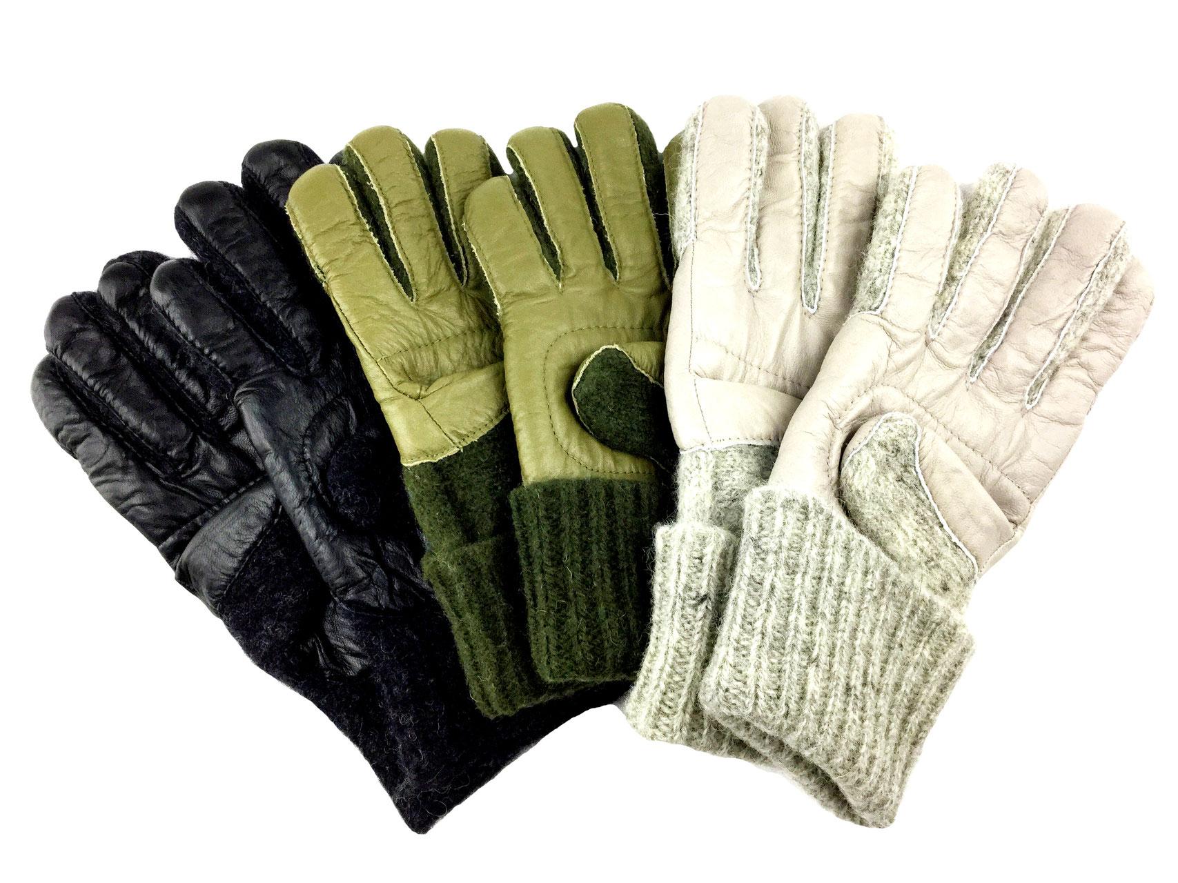 12ace5c5183 Dachstein Wool Gloves w  Leather Trim 2111 - Sweater Chalet