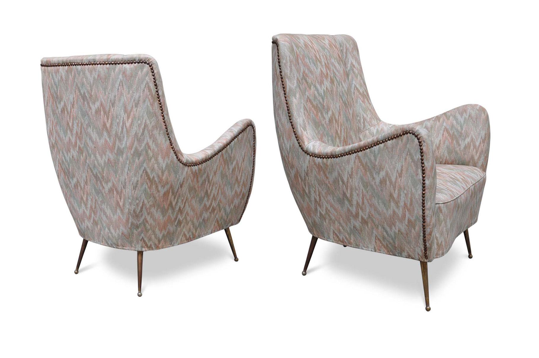 Poltrone Design Gio Ponti Italian Vintage Sofa