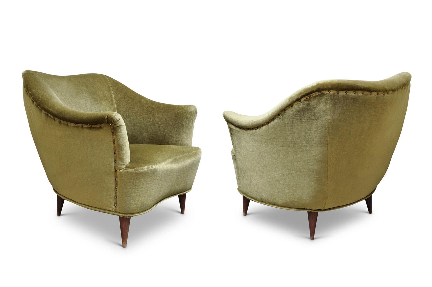 Poltrone gio ponti casa e giardino italian vintage sofa for Poltrone giardino