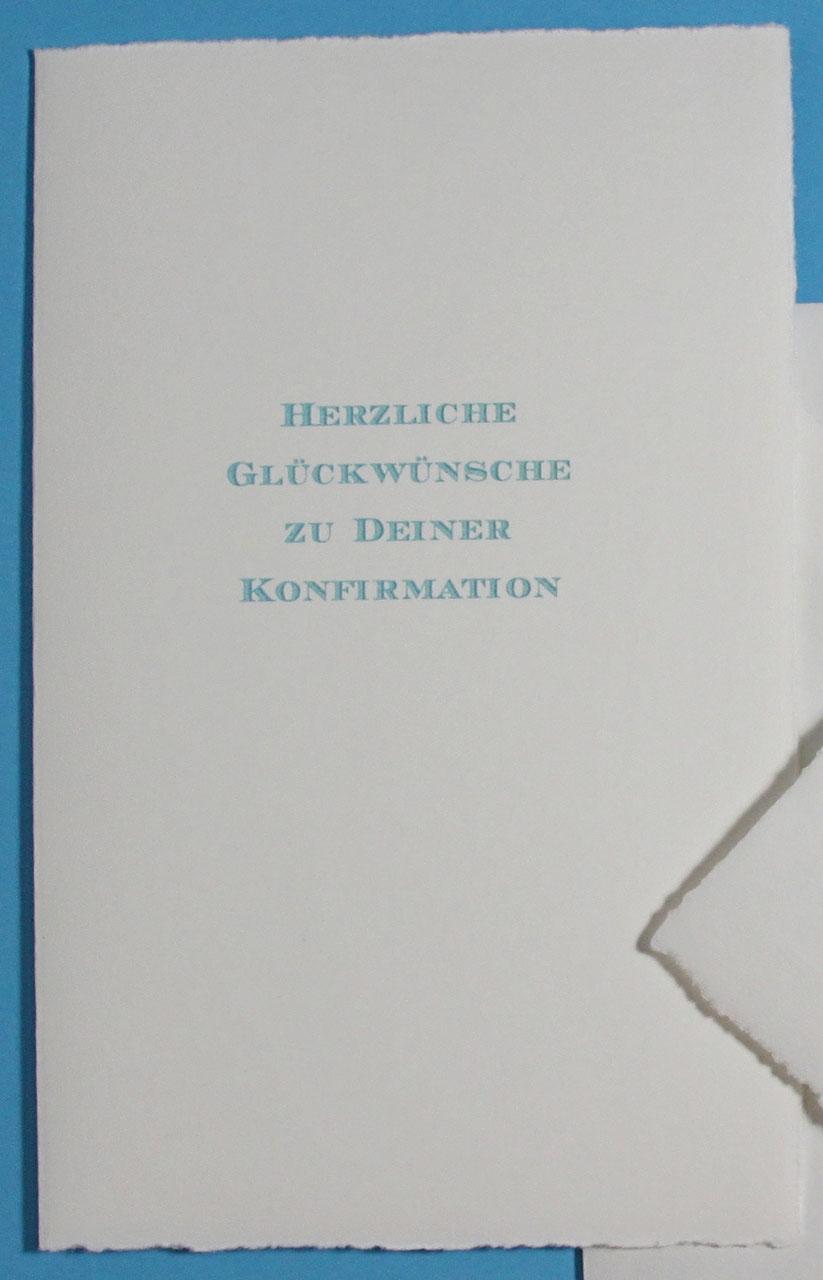 Glückwunschkarten Konfirmationkommunionfirmung Besondere