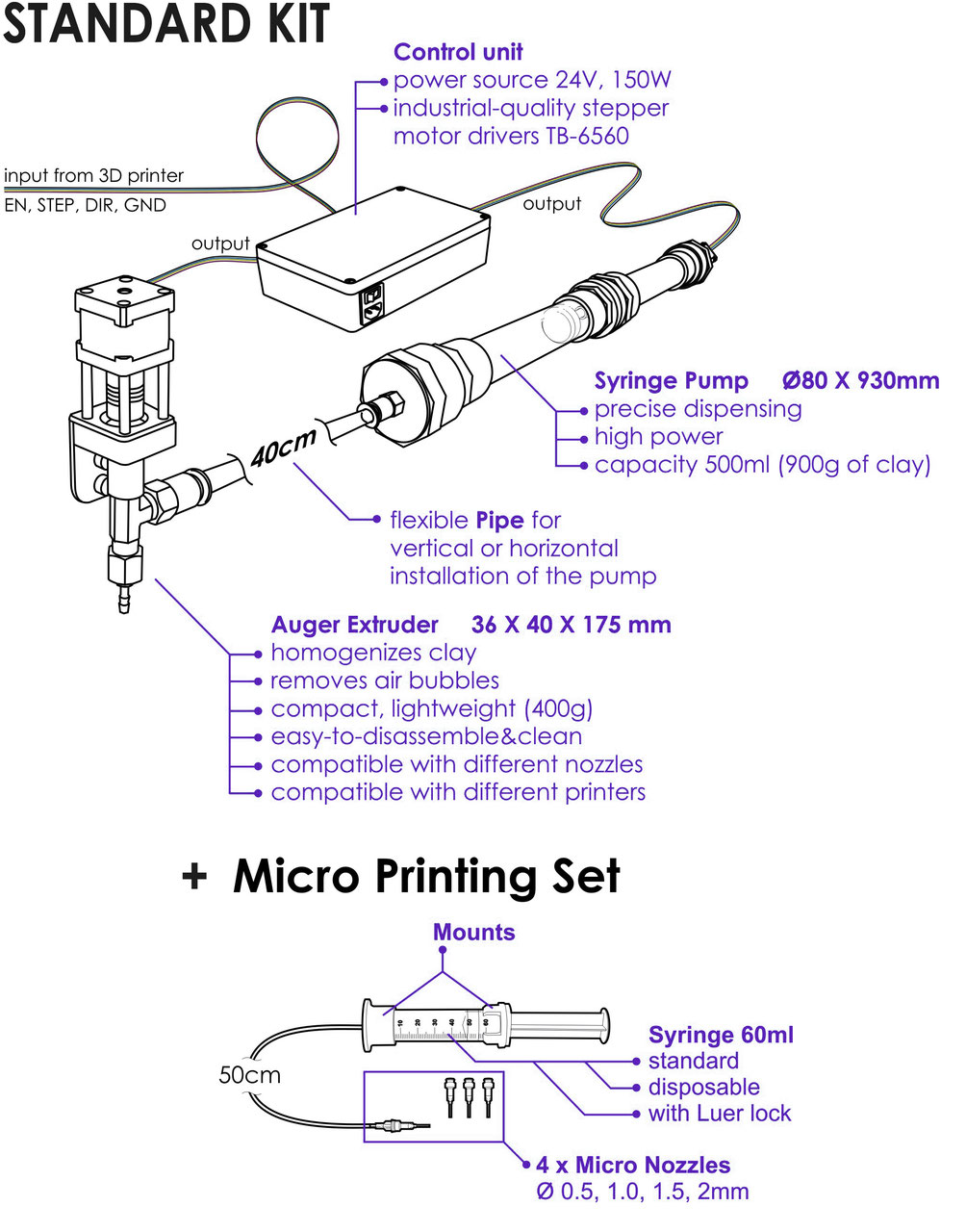 Ceramic 3d Printing Kit Stoneflower Ceramic 3d Printer