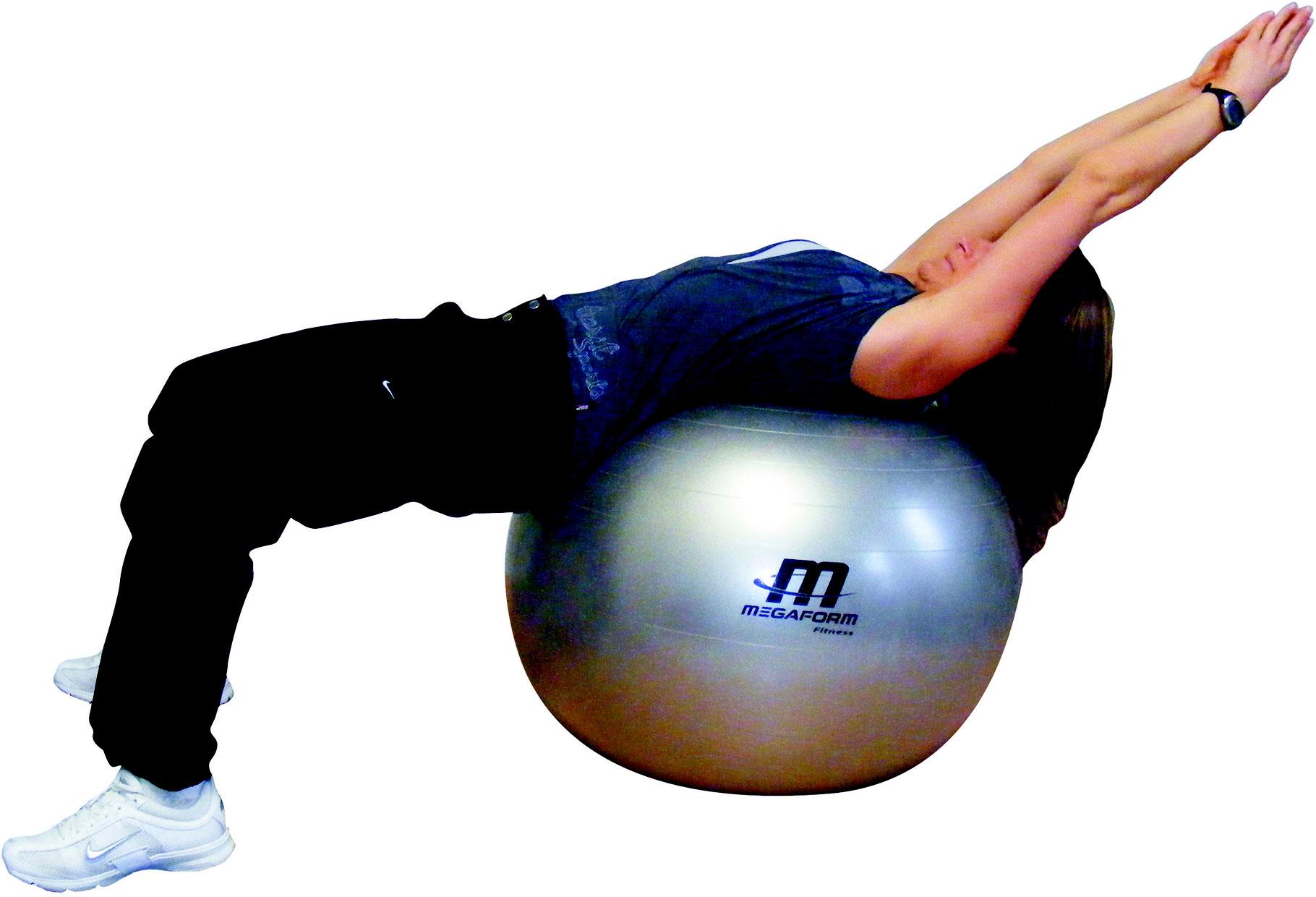 ballon géant fitball de fitness - matériel sportif et pédagogique