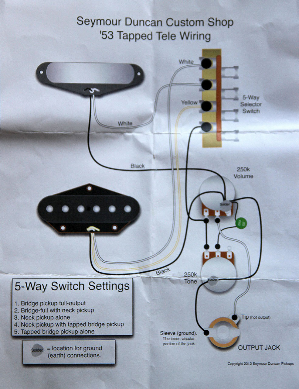 Handcrafted In Holland Cattleranch Nashville Telecaster Guitar Ebay Fender Tapped Tele 5 Way Switch Wiring Diagram Additional Information