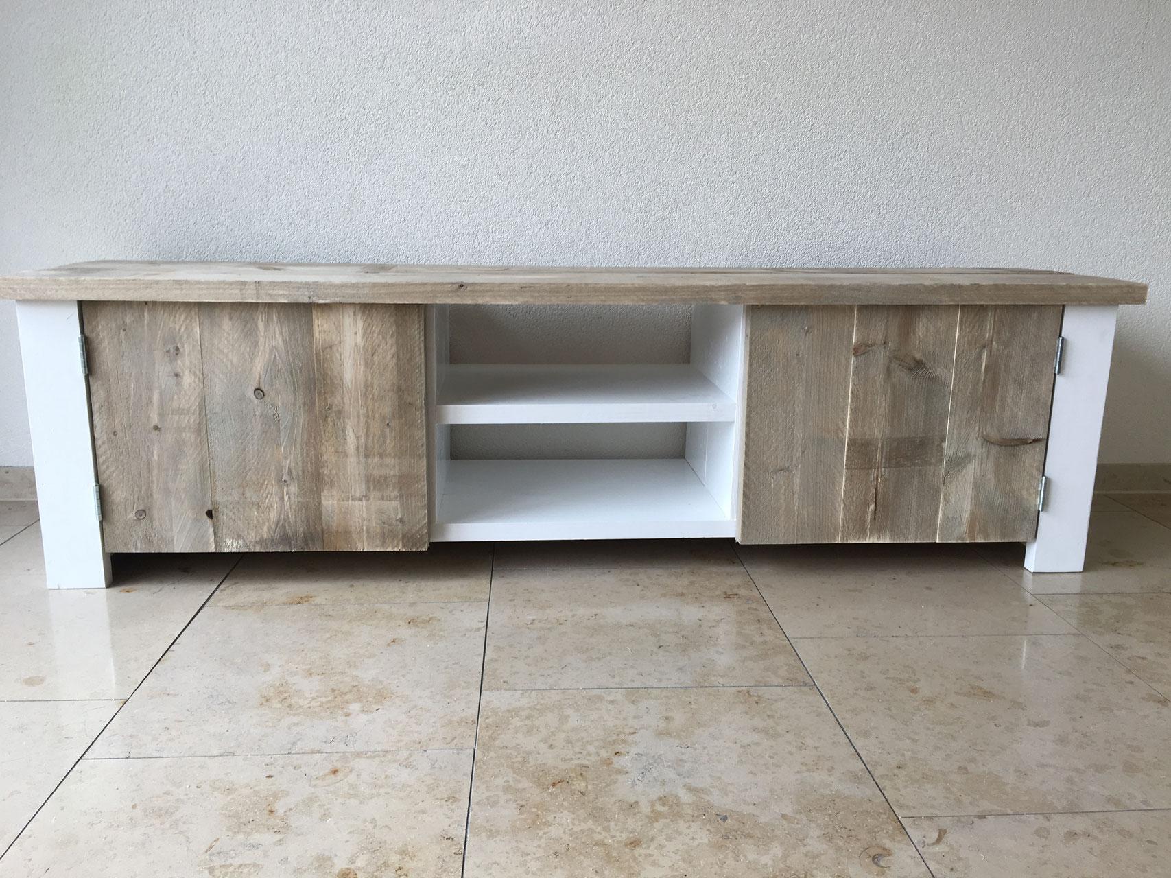 Steigerhout Tv Kast : Steigerhouten tv meubels vertrouwdsteigerhout de beste