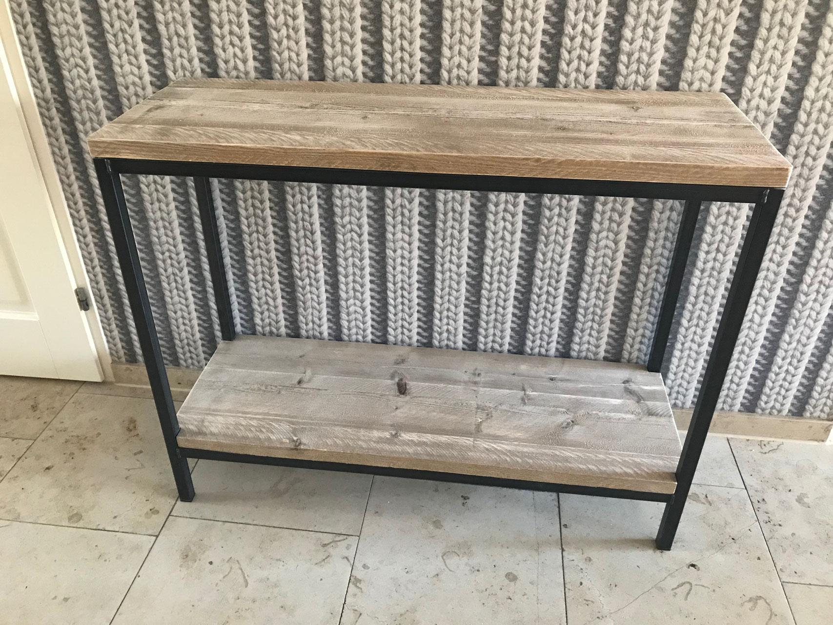 Side Table Voor Buiten.Steigerhouten Sidetable