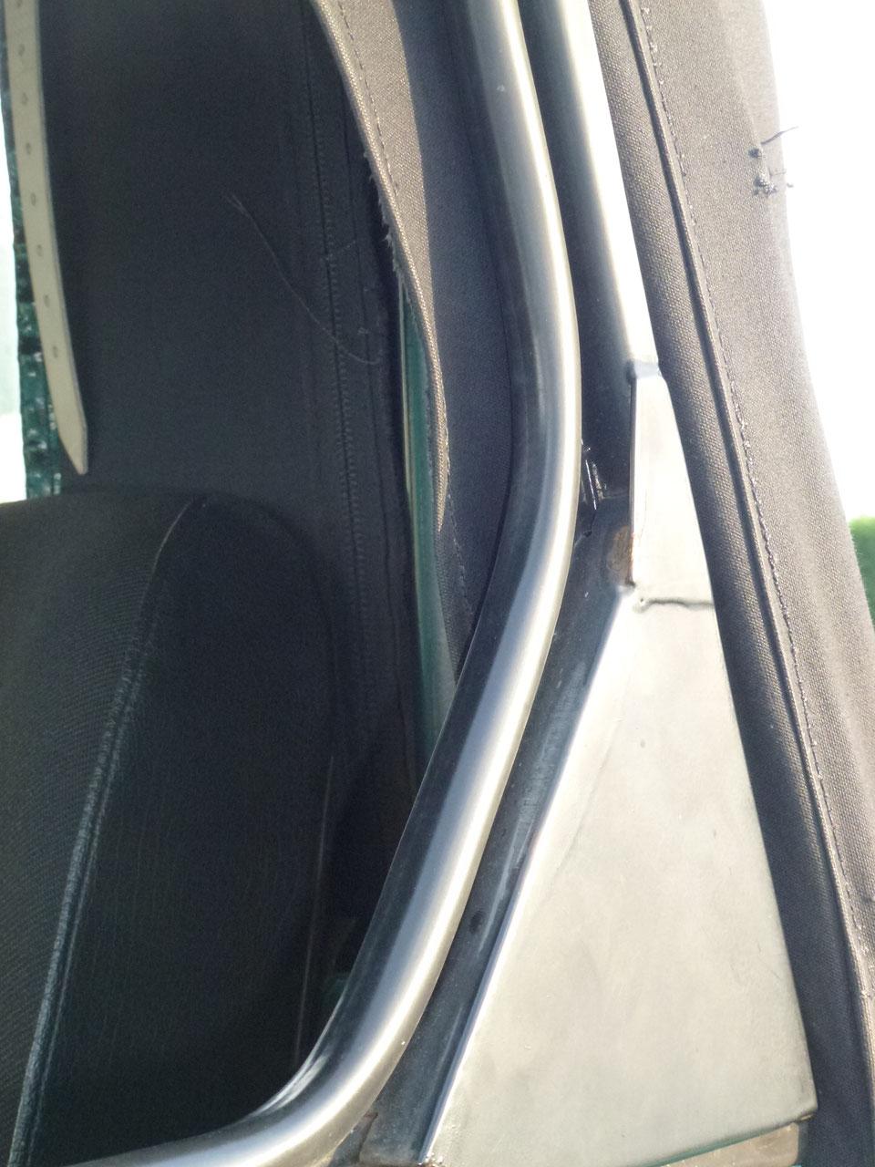Unimog Cabrio  421-406 Dachbelüftung