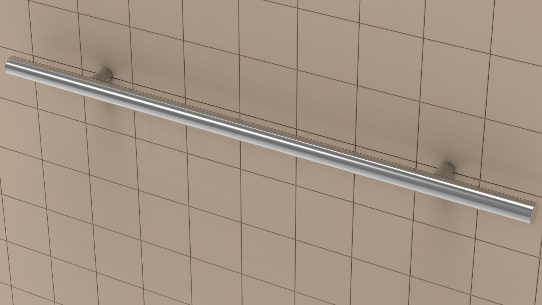 Ada Grab Bar For Tiled Walls Showers Bathrooms