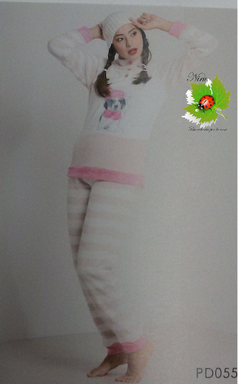 CARTOON Pigiama//TUTA del sonno per le donne//molte varianti//inverno//kostume//Biancheria Notte