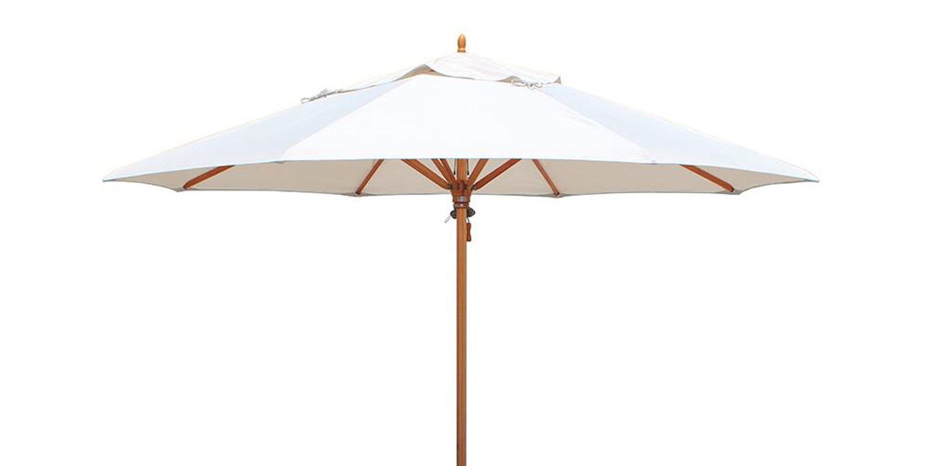 tradewinds sonnenschirm holz rund 320 cm solero bei sonnenschirme co gastroschirme und. Black Bedroom Furniture Sets. Home Design Ideas