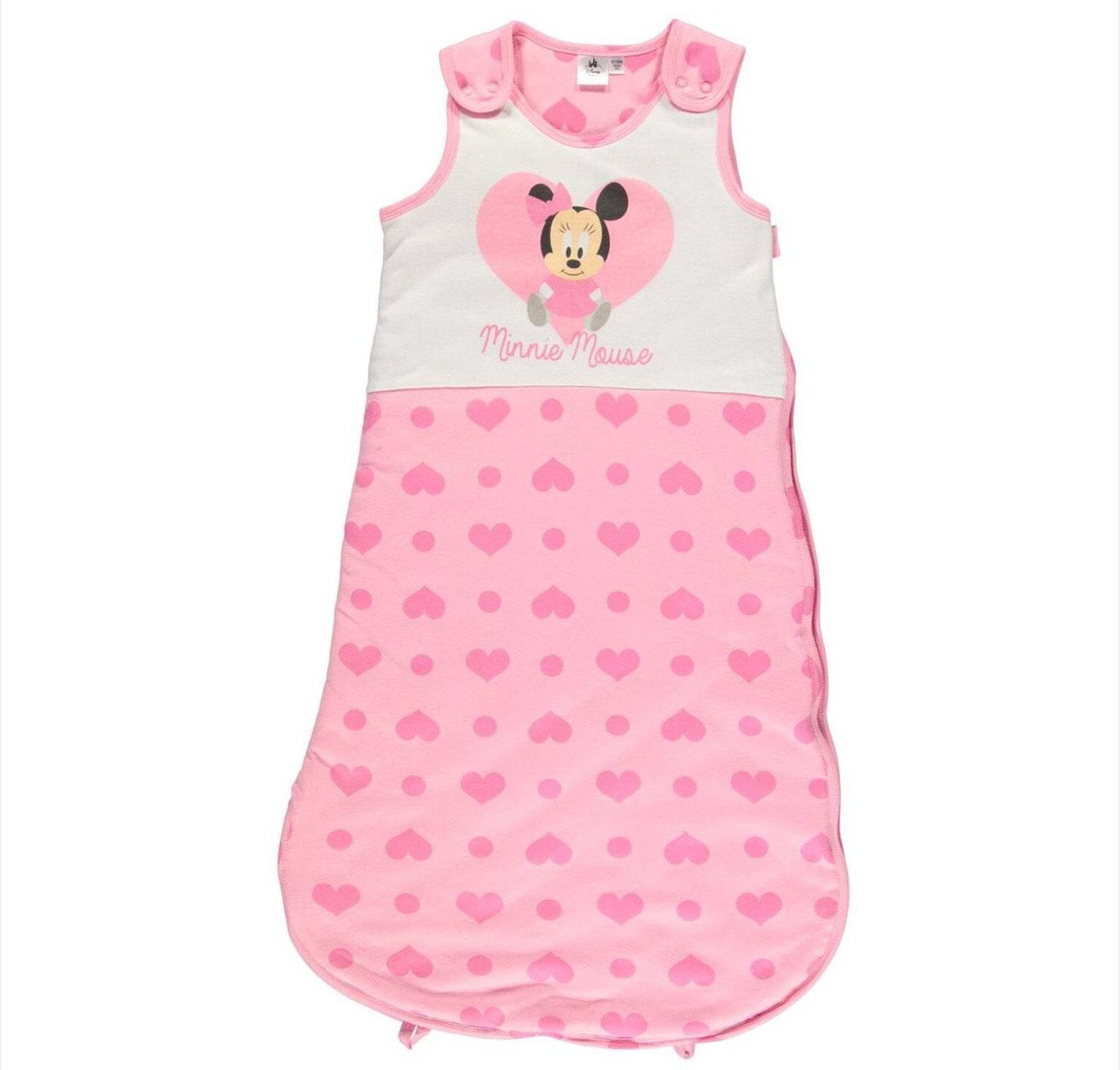 Disney Minnie Maus Schlafsack gefüttert