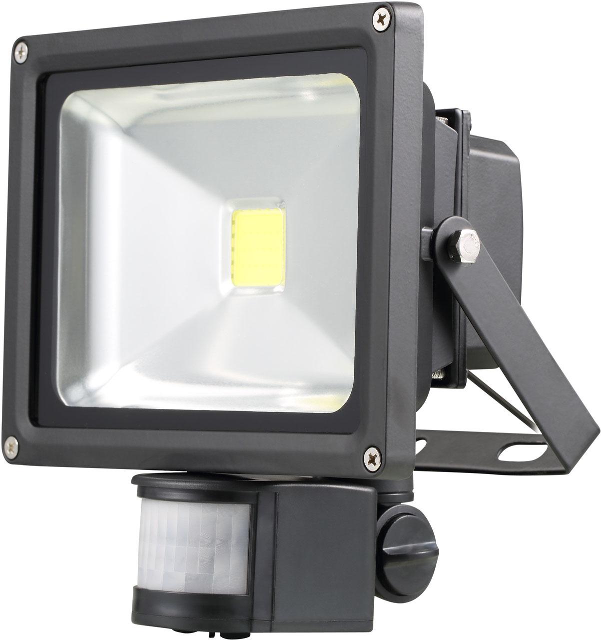 Nordirde 4066 20W COB LED Flutlichtstrahler mit Bewegungsmelder ...