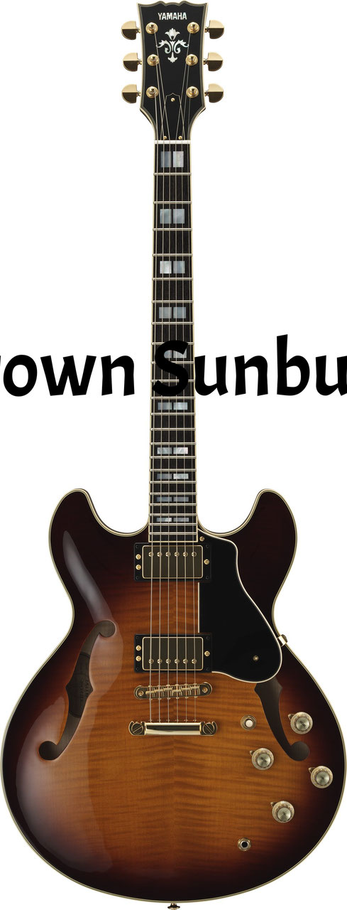 sa2200 hollow body guitar yamaha music mackay. Black Bedroom Furniture Sets. Home Design Ideas