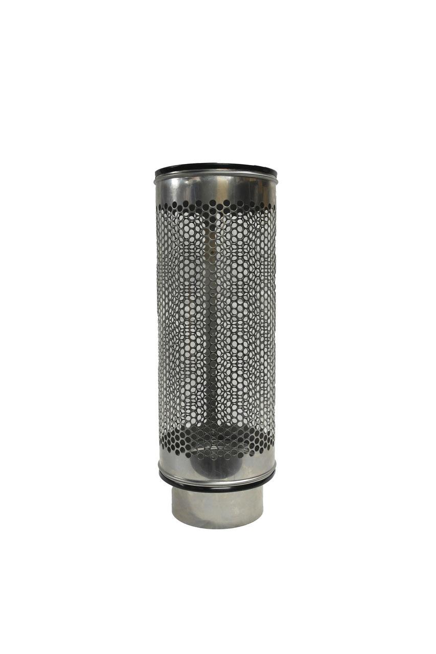 siebrohr f r 160er kg rohr dn 150 reduziert von 200er siebrohr einseitig verschlossen filter. Black Bedroom Furniture Sets. Home Design Ideas