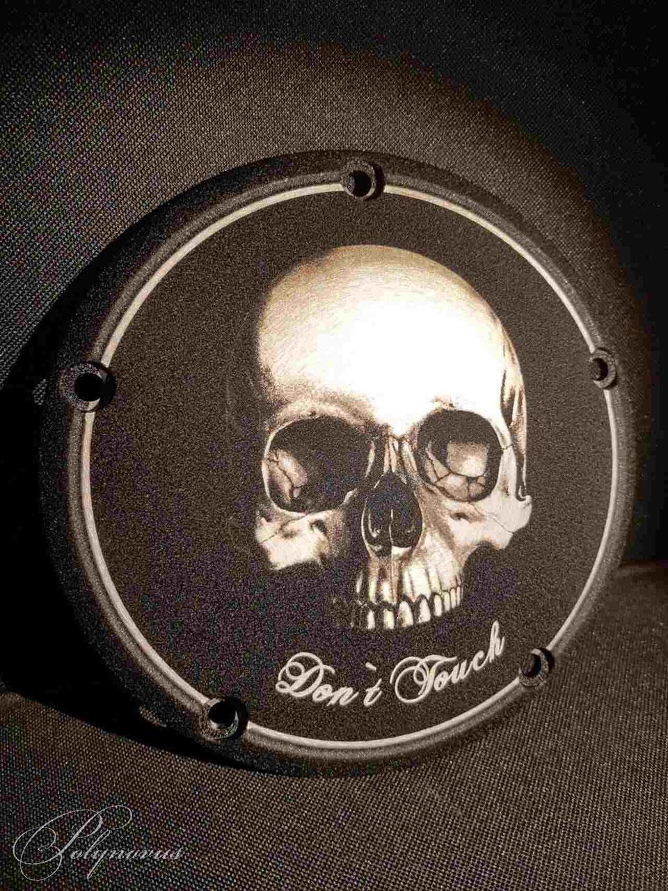 Chrom Kupplungsdeckel Derbycover für Harley Dyna Softail Bike Chopper
