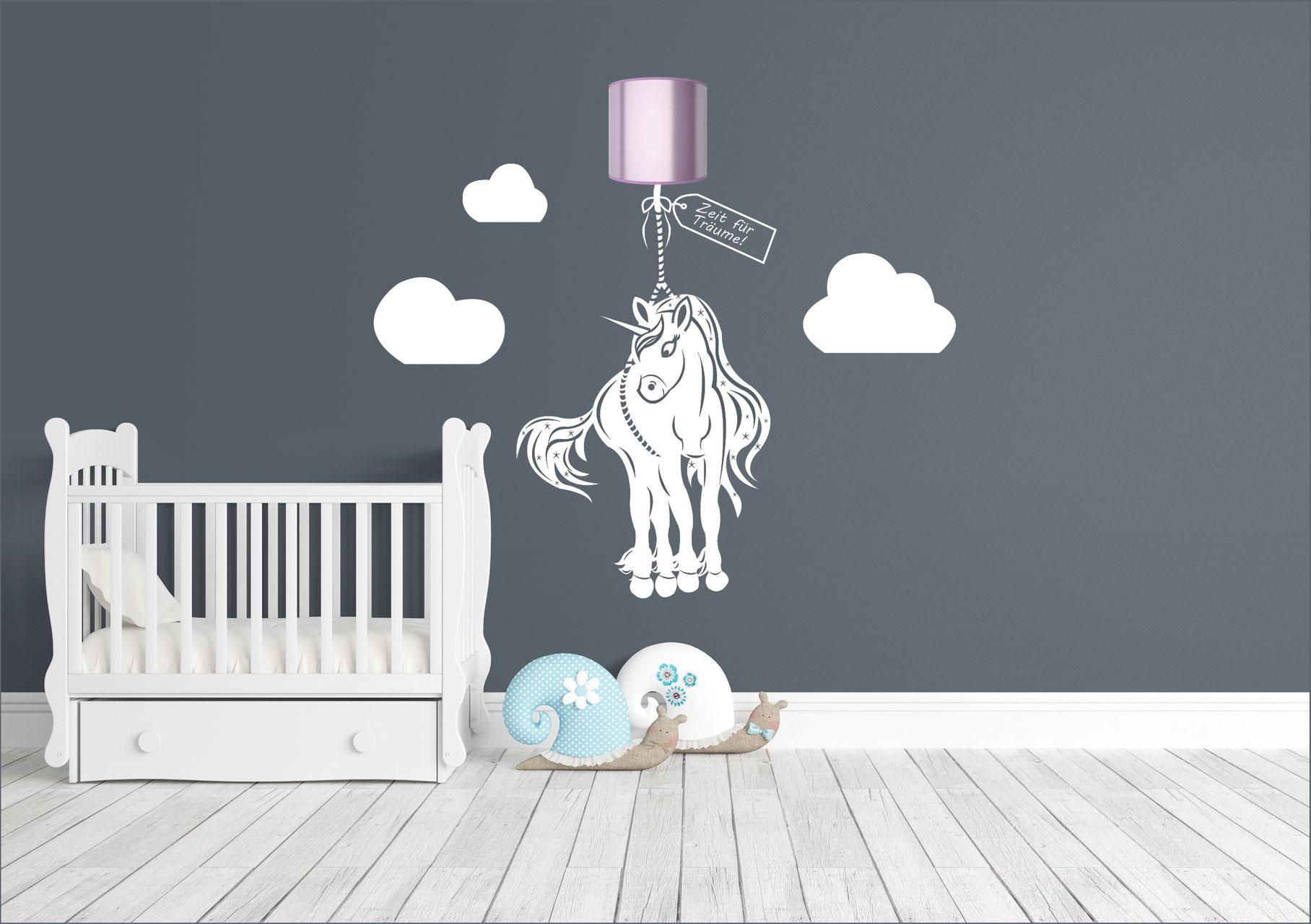 Ansprechend Wandtattoo Lila Referenz Von Wandtattoos Mit Licht Für Ihr Kinderzimmer