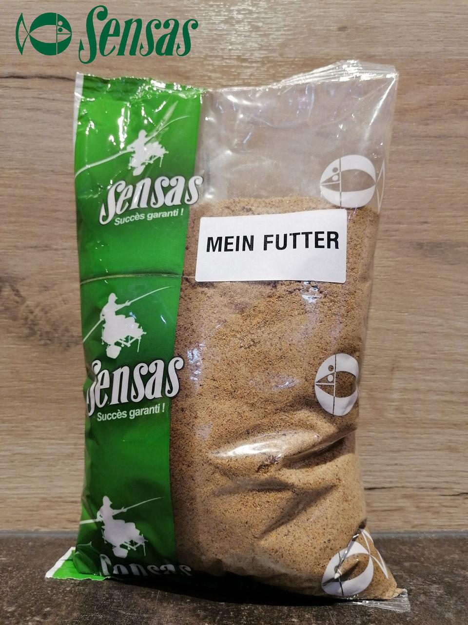 Sensas Mein Futter 1kg Lockfutter